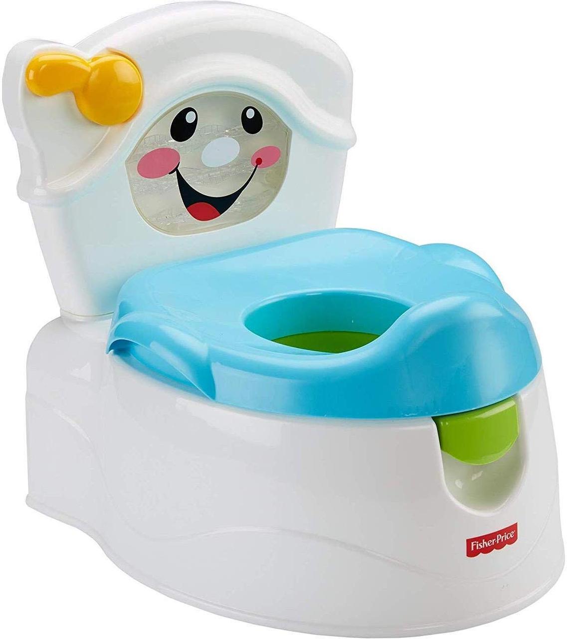 Фишер прайс Горшок музыкальный 2 в 1 Научи меня Fisher-Price Learn-to-Flush Potty