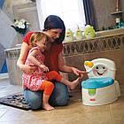 Фишер прайс Горшок музыкальный 2 в 1 Научи меня Fisher-Price Learn-to-Flush Potty, фото 4