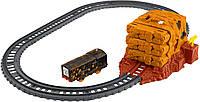Фишер Прайс Томас и Друзья Моторизированный поезд  Взрыв в тоннеле Fisher-Price Tunnel Blast