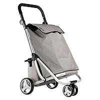 Хозяйственная сумка-тележка, кравчучка, сумка для покупок ShoppingCruiser 3 Wheels 40 Grey