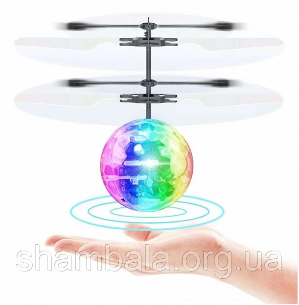 "Вертолет-шар Can xing toys ""Induction crystal ball"" (065632)"