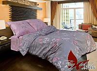 Полуторный комплект постельного белья хлопок 100% ранфорс R7245