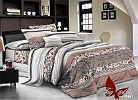 Комплект постельного белья полуоторный размер хлопок ранфорс R71657