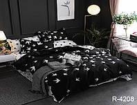 Постельное белье Евро комплект , хлопок 100% Ранфорс R4208