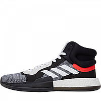 Кроссовки adidas Marquee Boost Basketball White/Core Black/Solar Red Black - Оригинал