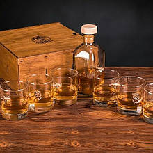 Набор 6 стаканов для виски + графин