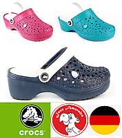 Женские сабо кроксы. Германия - Украина. Летние женские шлепки. Босоножки женские на платформе.