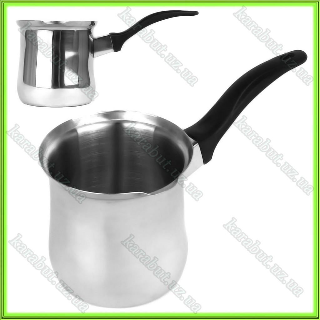 Турка для кофе из нержавеющей стали 400мл.