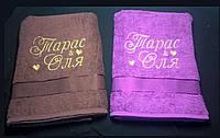 Набор полотенец для пары, банные
