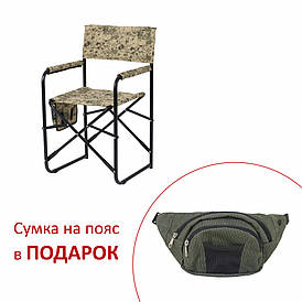 Стул складной Режиссёр без полки Vitan d20 мм песочный камуфляж