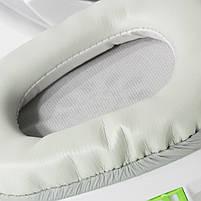 Игровая гарнитура SALAR KX101 Белый с микрофоном стерео 3.5 jack для игр геймеров пк игровые наушники, фото 6