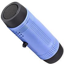 Фонарик-колонка ZEALOT S1 Синий Bluetooth 5.0 IP 55 Мощность 3 Вт 4000 мАч, фото 3