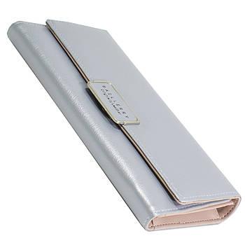 ➣Кошелек Baellerry 60A-5 Серый для удобного хранения купюр монет карточек