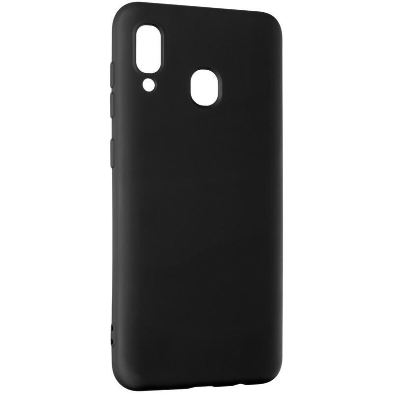 Чехол накладка Full Soft Case for Samsung A505 (A50) Black