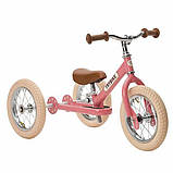 Trybike Балансирующий велосипед беговел 2 в 1 розовый Steel 2 in 1 Balance Bike Pink, фото 5