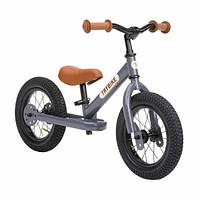 Trybike Балансирующий велосипед беговел 2 в 1 серый Steel 2 in 1 Balance Bike Trike grey