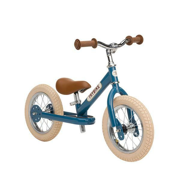 Trybike Балансирующий велосипед беговел 2 в 1 синий Steel 2 in 1 Balance Bike Trike Blue