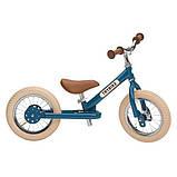 Trybike Балансирующий велосипед беговел 2 в 1 синий Steel 2 in 1 Balance Bike Trike Blue, фото 2