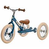 Trybike Балансирующий велосипед беговел 2 в 1 синий Steel 2 in 1 Balance Bike Trike Blue, фото 3