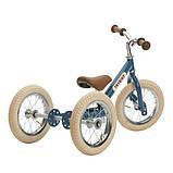 Trybike Балансирующий велосипед беговел 2 в 1 синий Steel 2 in 1 Balance Bike Trike Blue, фото 4