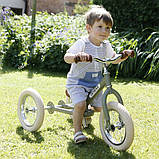 Trybike Балансирующий велосипед беговел 2 в 1 оливковый 6167 Steel 2 in 1 Balance Bike Trike green, фото 2
