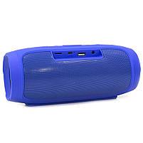 ✕Переносная колонка LZ Charge 4 Blue компактная акустика для дома музыки функция Bluetooth Power bank, фото 3