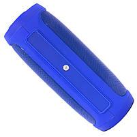 ✕Переносная колонка LZ Charge 4 Blue компактная акустика для дома музыки функция Bluetooth Power bank, фото 6