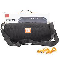 ☇Переносная колонка BL JBL Xtreme Black Bluetooth FM USB microUSB портативная беспроводная, фото 8