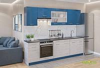 Модульная кухня Марта (цветная) Комплект 2.6