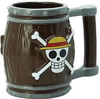 Кружка Abystyle One Piece - Barrel 3D Mug 350 ml, фото 1