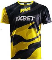 Футболка NAVI 2020 Игровая Джерси Желто-Черная  XL, фото 1