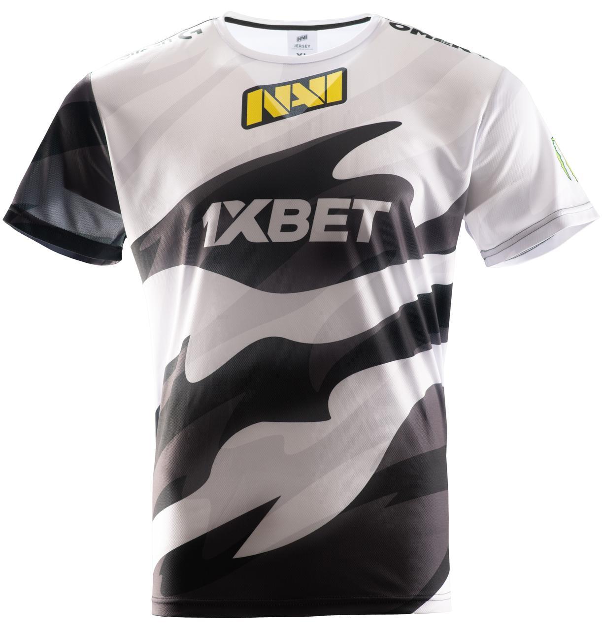 Футболка NAVI 2020 Игровая Джерси Черно-Белая  XL