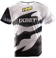 Футболка NAVI 2020 Игровая Джерси Черно-Белая  XL, фото 1