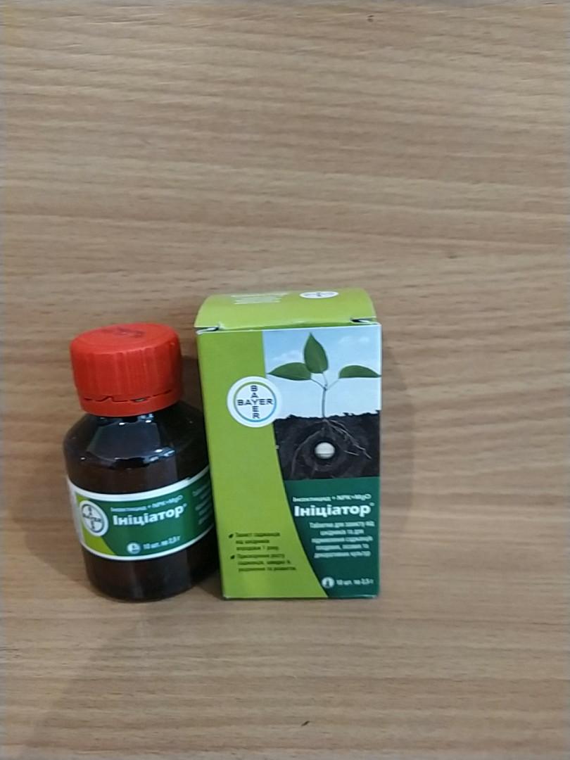 Инициатор 1 таблетка(2,5 грамма) инсектицид + удобрение, ТМ Bayer