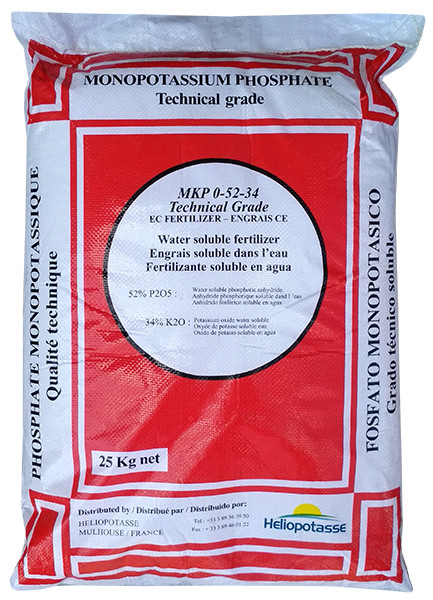 Комплексне мінеральне добриво Монофосфат калію, 25кг, NPK 0.52.34