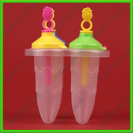 Формочки для замороженного сока и мороженоно из 4-х L 10 см объём 75 мл, фото 2
