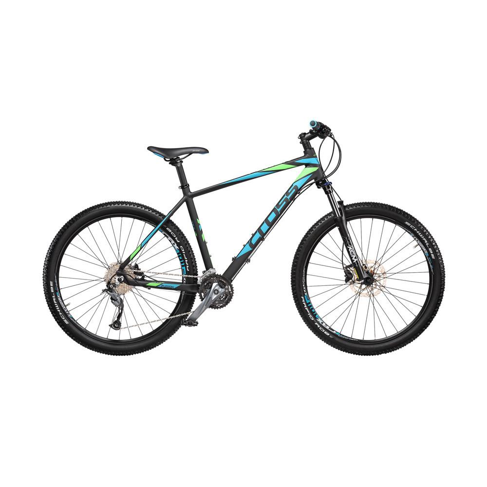 """Велосипед 27,5"""" CROSS FUSION рама 16"""" 2018 черный"""