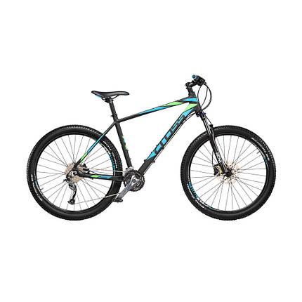 """Велосипед 27,5"""" CROSS FUSION рама 16"""" 2018 черный, фото 2"""