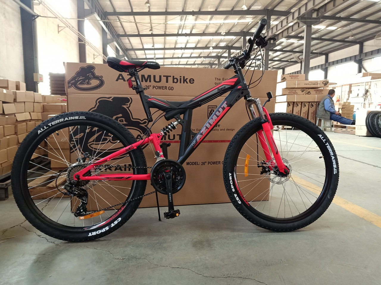 Велосипед гірський двоколісний Power Azimut 26 дюймів 19,5 рама