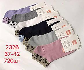 Носки женские короткие Спорт Корона 37-42 Премиум  качество Хлопок