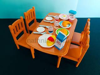 Іграшкова меблі для лялькових будиночків Happy family аналог sylvanian families