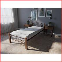 Кровать Лара Люкс Вуд / односпальная (Melbi), фото 3