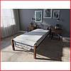 Кровать Лара Люкс Вуд / односпальная (Melbi), фото 6