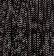 Шнур для одежды с наполнителем 6мм цв коричневый (уп 100м) Ф