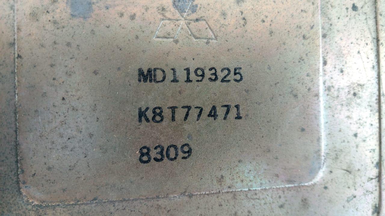 Блок управления двигателем (ЭБУ) MD119325, K8T77471, 77119637 Galant 88-92r Mitsubishi