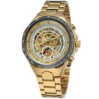 Наручные Часы Winner 8067 Gold-Black-White Red Cristal