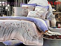 Постельное белье, евро комплект, сатин, Вилюта (Viluta)  VS 609
