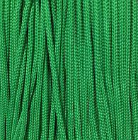 Шнур для одежды 4мм цв зеленый (уп 100м) 122Ф