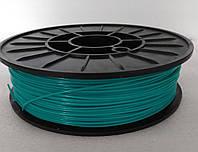 PLA-пластик для печати на 3D принтере. Бирюзовый 1,75 мм, 750 грамм
