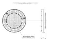 Плафон потолочный накладной Horpol LW512